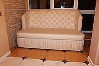 Лавка-диван для кафе и мест общественного назначения.