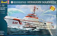 Корабль Search & Rescue Vessel HERMANN MARWEDE, 1:72, Revell