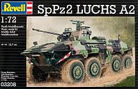 Боевая разведывательная машина SpPz 2 Luchs (1975г.; Германия), 1:72, Revell