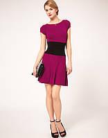 Оригинал. Полная распродажа. Платье Karen Millen лилового цвета оригинального дизайна KM70217