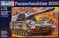 Бронированая гаубица (1998г., Германия) Panzerhaubitze PzH 2000, 1:72, Revell