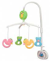 Музыкальный пластиковый мобиль Мишки и утки, Canpol babies
