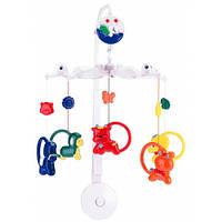 Музыкальный мобиль Зверушки с кольцами, Canpol babies