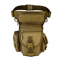 Армейская поясная набедренная сумка хаки