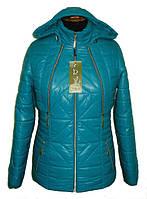 Модная весенняя куртка 2 в 1 приталенного силуэта.