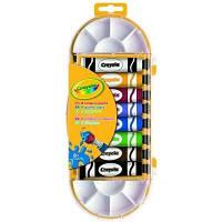 8 красок в тюбике с кисточкой для рисования, Crayola