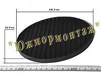 Диск резиновый ребристый 160*-10, фото 1