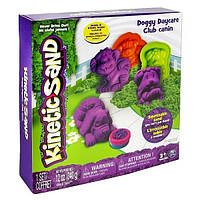 Kinetic Sand Doggy - песок для творчества, фиолетовый, зеленый, 340 г, Wacky-tivities