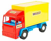 Mini truck - игрушечная машинка контейнер, Wader