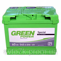 Аккумулятор Chevrolet Aveo (Шевроле Авео) Green Power (Грин павер) 60 Ач