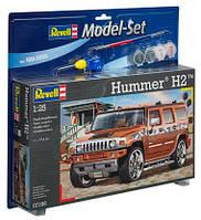 Model Set Автомобиль Hummer H2; 1:25, Revell