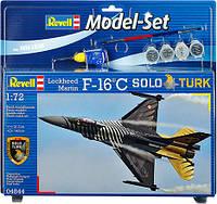 Model Set Многоцелевой истребитель F-16 C SOLO TURK; 1:72, Revell