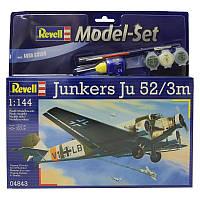 Model Set Самолет Junkers Ju52/3m; 1:144, Revell