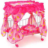 Кроватка для куклы Melobo, 48х32х60 см