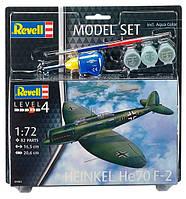 Model Set Самолет Бомбардировщик-разведчик Heinkel He70 F-2; 1:72, Revell