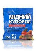 Медный купорос (медь сернокислая, сульфат меди) уп-100 г