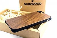 Эксклюзивный деревянный чехол Американский орех премиум для iPhone 6/6S