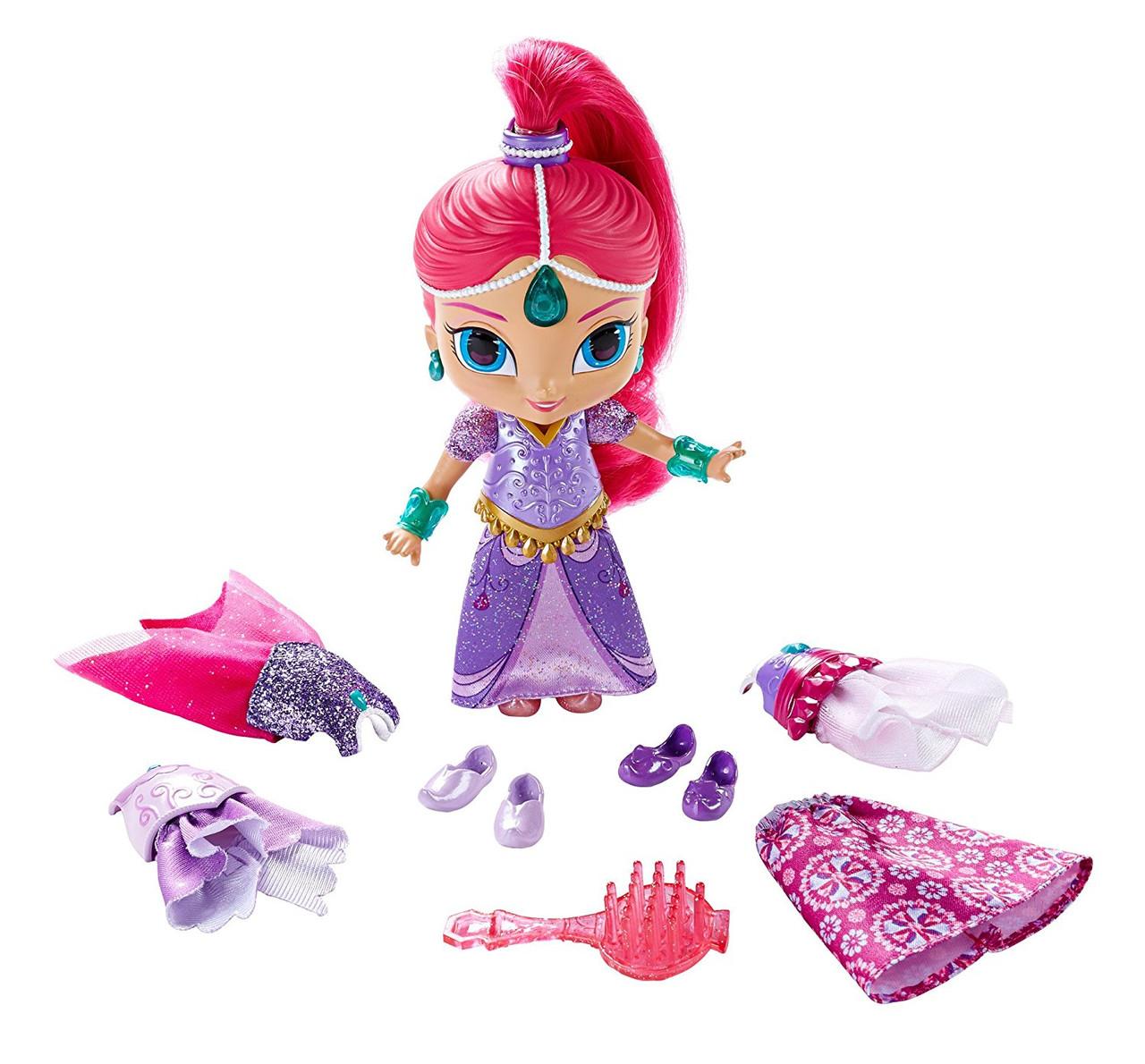 Кукла джинн Шиммер набор магия одежды м/ф Шиммер и Шайн Фишер прайс Fisher-Price Shimmer and Shine