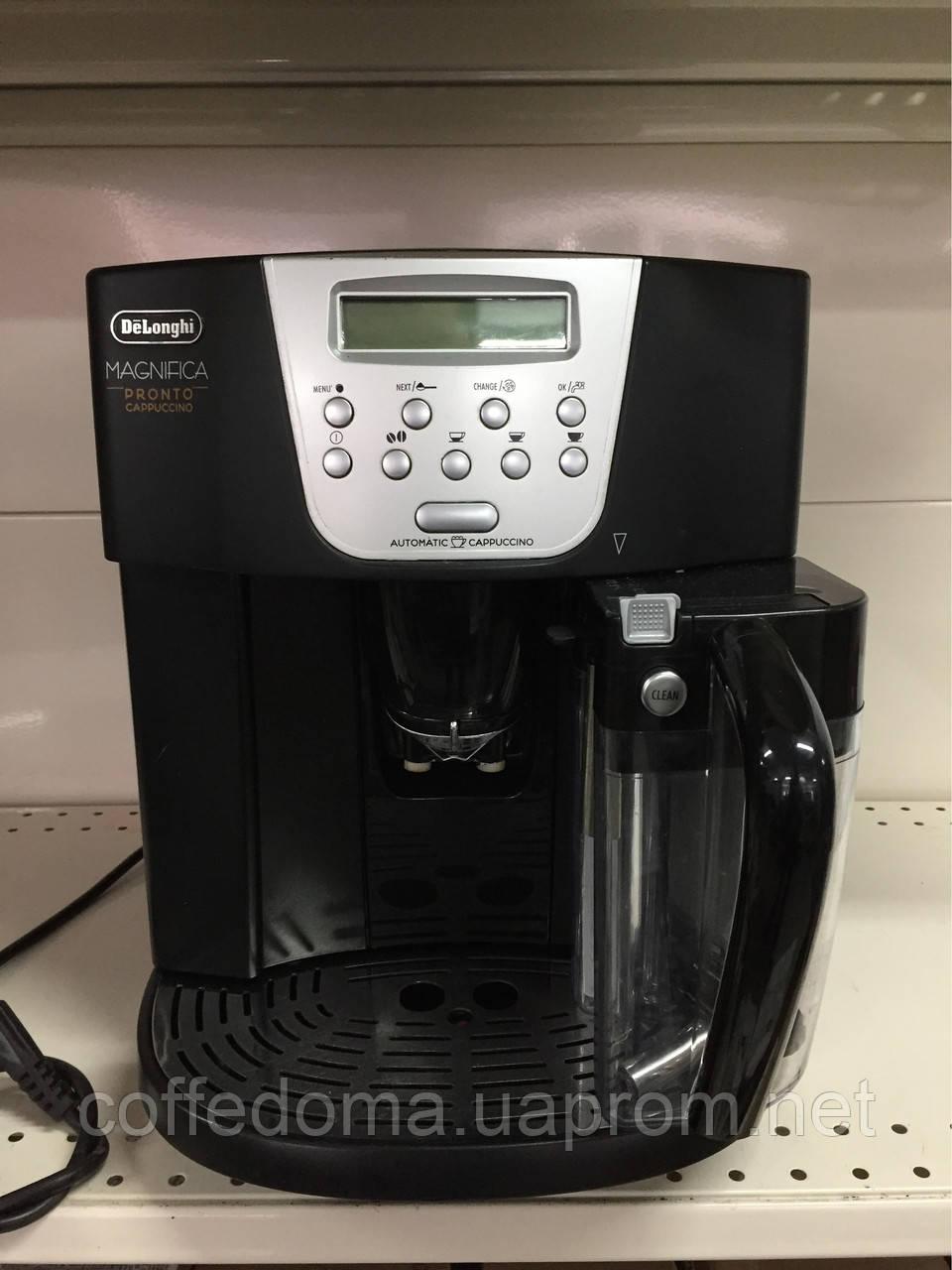 Delonghi Pronto cappuccino ESAM 4500 кофемашина с капучинатором