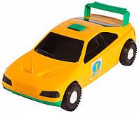 Авто-спорт - машинка желтая, Wader
