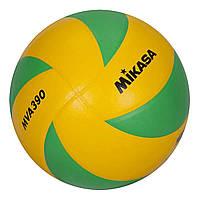 Волейбольный мяч Mikasa MVA390, очень прочный (ORIGINAL)