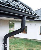 Металеві водостоки під колір вашого даху