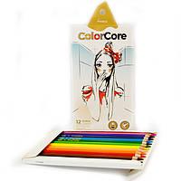 Олівці Marco Color Core 12 кольорів