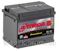 Аккумулятор Chevrolet Aveo (Шевроле Авео) a-mega Premium (Амега Премиум) 60 Ач