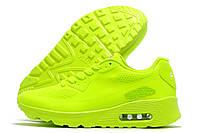 Кроссовки женские Nike Air Max неоновые (найк эир макс)