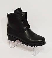 Черные женские ботинки Fabio Monelli