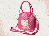 """Детская сумочка """"Hello Kitty"""" малиновая   H-22"""