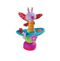 Бабочка, Цветочная карусель, игрушка на присоске, Taf Toys