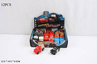 Машинка легковая тачки ty626 резиновая 12  в коробке 225*55*165 см