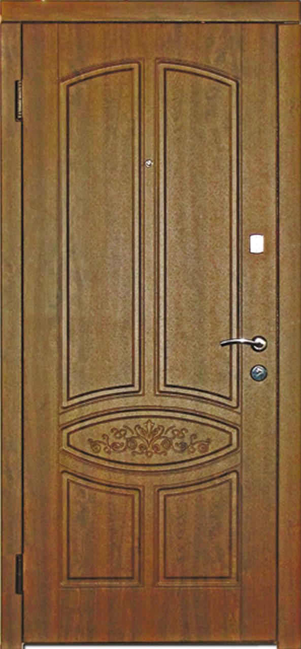Двери входные металлические модель 107 Гранат серия Стандарт, фото 1