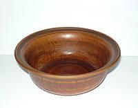 Миска из красной глины 0,5 л. (глиняная посуда)