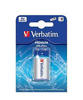 Батарейка Verbatim Alkaline Krona 9V 1шт