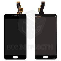 Дисплей для мобильных телефонов Meizu M3, M3s Mini, черный, с сенсорным экраном