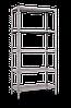 Стеллаж полочный Рембо RM158 на болтовом соединении (2315х1100х600)