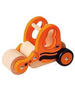 """Игрушка Viga Toys """"Строительная машина"""", деревянная машинка, машинка коток"""