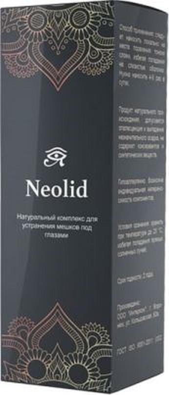 Neolid - комплекс для устранения мешков под глазами. Цена производителя. Фирменный магазин.