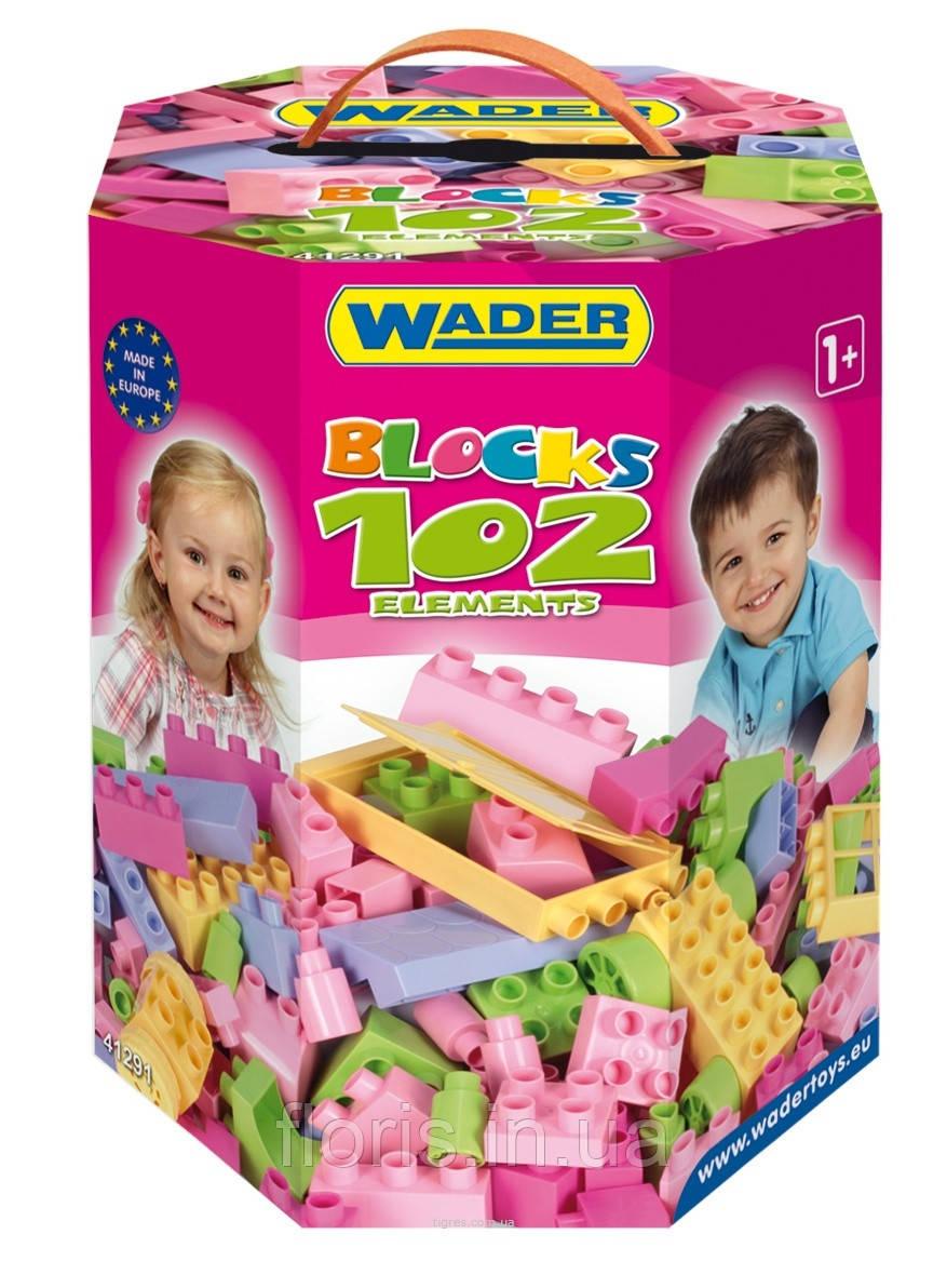 Конструктор 102 элемента (для девочек)