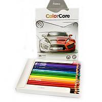 Карандаши Marco Color Core 36 цветов