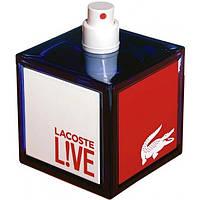 """Туалетная вода в тестере LACOSTE """"L!VE pour homme"""" 100 мл"""