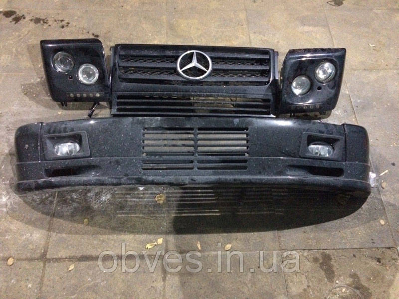 Очки с фарами Mercedes G-class W463 стиль ART б/у