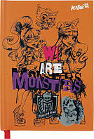 Блокнот А6, 80 л., Monster High, Kite