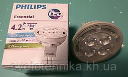 Лампа светодиодная LED типа MR-16 Philips GU5,3 12V 4,2W 6500К
