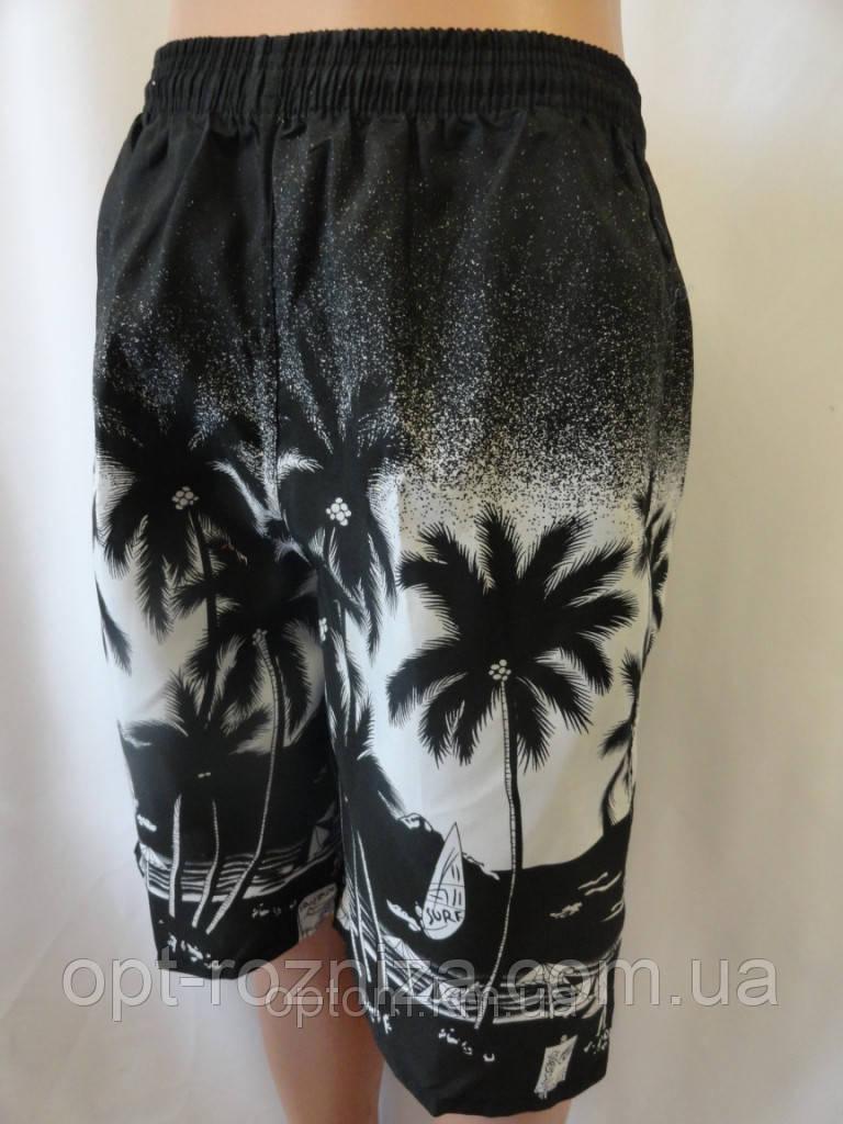 Длинные мужские шорты с карманами
