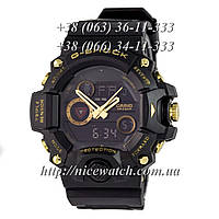 Часы мужские Копия G-Shock Triple Sensor Extra Black/Gold