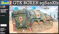 Бронетранспортер GTK Boxer sgSanKfz (2009 г., Германия), 1:35, Revell