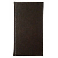 Еженедельник датированный 2018 BRISK OFFICE MIRADUR (8,6х15,3) коричневый